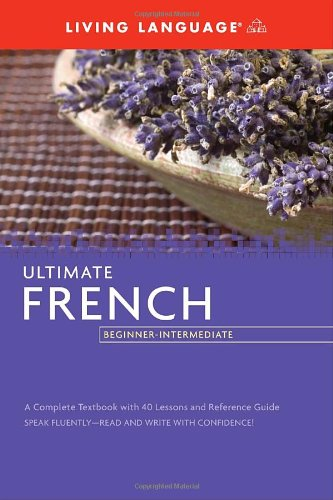 Ultimate French Beginner-Intermediate  Large Type edition cover