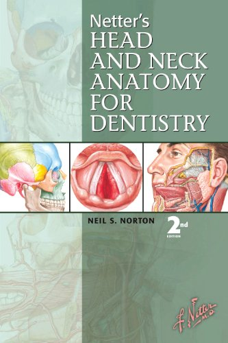 Netter's Head and Neck Anatomy for Dentistry  2nd 2011 edition cover