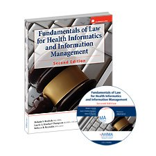 Fundamentals of Law for Health Informatics and Information Management  2nd edition cover