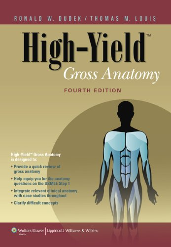 Gross Anatomy  4th 2011 (Revised) edition cover