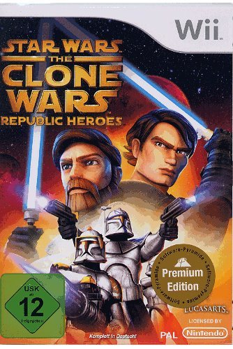 Star Wars: The Clone Wars Republic Hero Nintendo Wii artwork