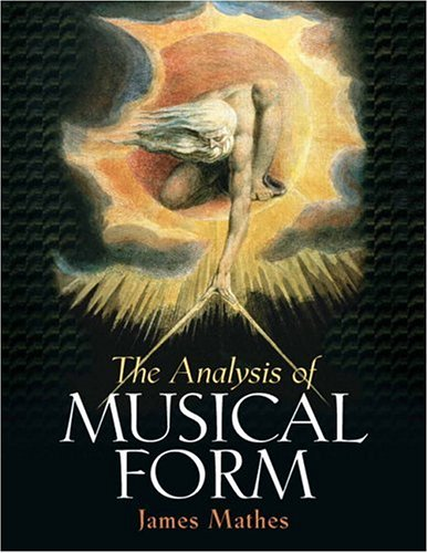 Analysis of Musical Form   2007 edition cover