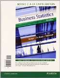 Business Statistics Student Value Edition Plus NEW MyStatLab with Pearson EText -- Access Card Package  3rd 2015 edition cover