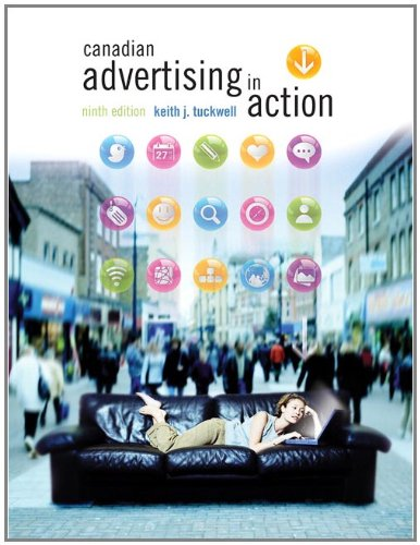 Canadian Advertising in Action  9th 2012 9780137060634 Front Cover