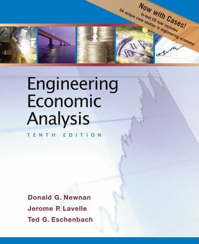 Engineering Economic Analysis  10th edition cover