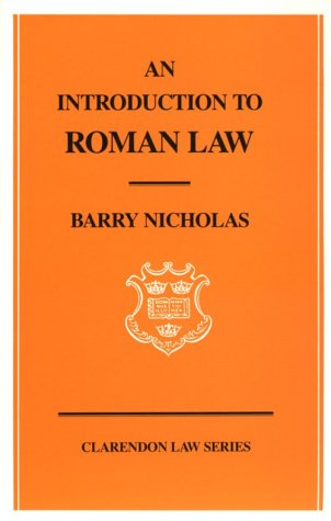 Introduction to Roman Law  N/A edition cover