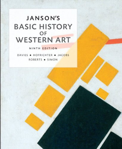 Janson's Basic History of Western Art  9th 2014 edition cover