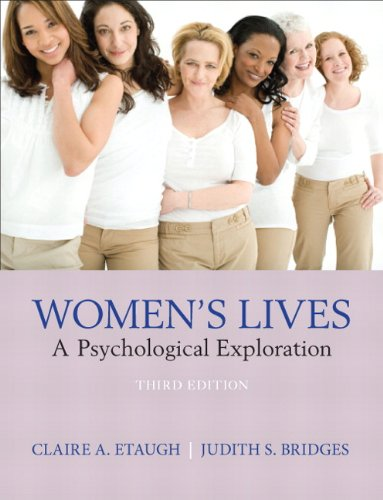 Women's Lives A Psychological Exploration 3rd 2012 (Revised) edition cover