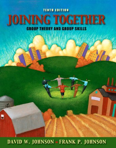 Joining Together Group Theory and Group Skills 10th 2009 edition cover