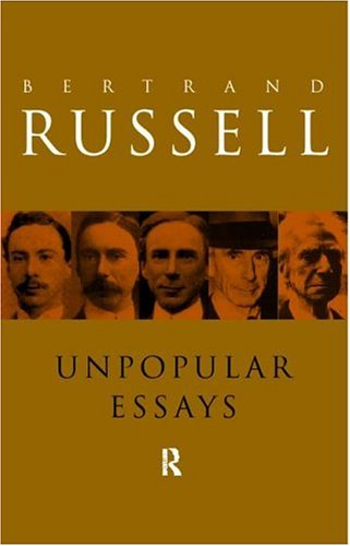 Unpopular Essays  2nd 1995 (Revised) edition cover