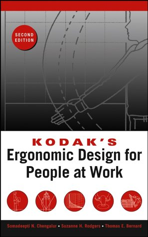 Kodak's Ergonomic Design for People at Work  2nd 2003 (Revised) edition cover