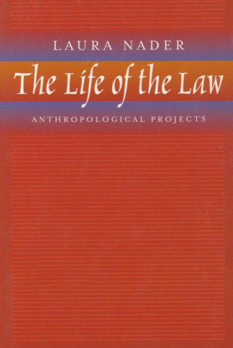 Life of the Law Anthropological Projects  2002 edition cover
