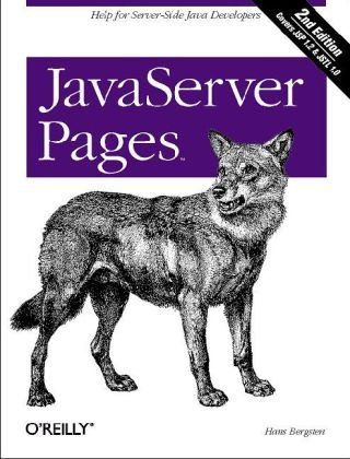 JavaServer Pages  3rd 2003 edition cover