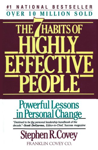 Seven Habits of Highly Effective People   1990 (Revised) 9780671708634 Front Cover