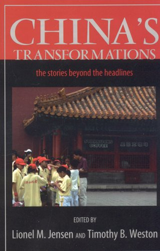 China's Transformations The Stories Beyond the Headlines  2006 9780742538634 Front Cover