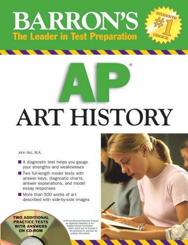Barron's AP Art History   2008 edition cover