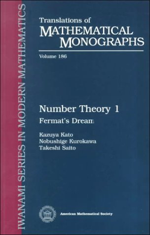 Number Theory 1 Fermat's Dream  2000 edition cover