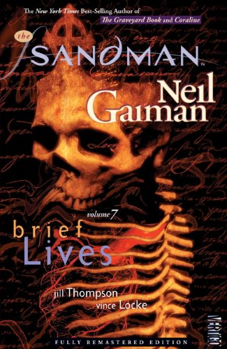 Sandman Brief Lifes Vol 7 New Ed   2010 9781401232634 Front Cover