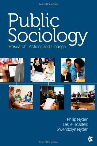 Public Sociology Research, Action, and Change  2012 edition cover