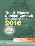 5-Minute Clinical Consult Standard 2016 Print + 10-Day Web Trial Access 24th 2015 edition cover