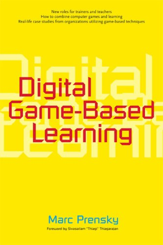 Digital Game-Based Learning   2007 edition cover