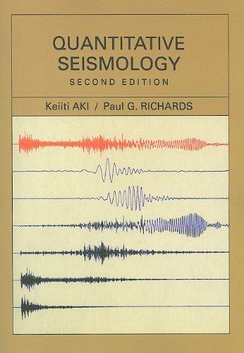 Quantitative Seismology  2nd edition cover