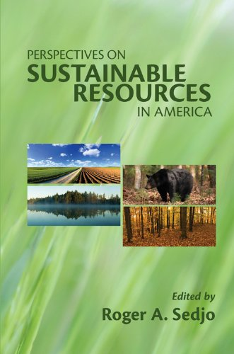 Perspectives on Sustainable Resources in America   2008 9781933115634 Front Cover