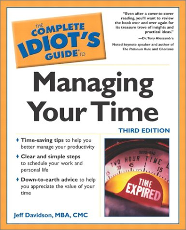 Managing Your Time  3rd 2002 9780028642635 Front Cover