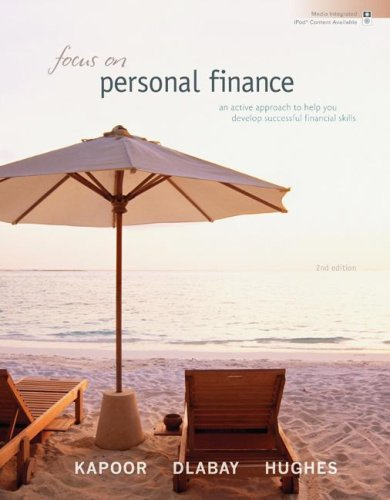 Focus on Personal Finance An Active Approach to Help You Develop Successful Financial Skills 2nd 2008 edition cover