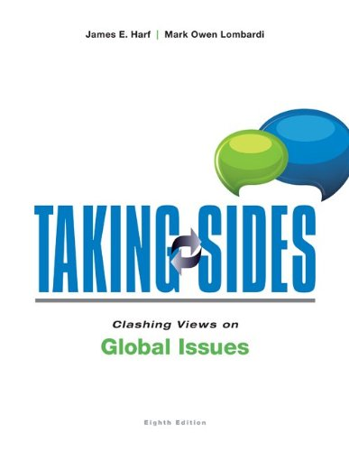 Clashing Views on Global Issues:   2013 edition cover
