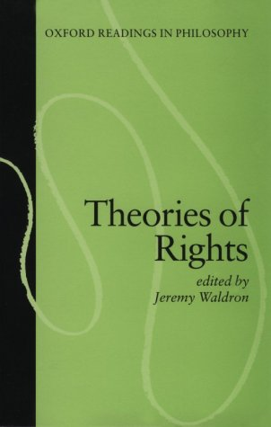 Theories of Rights   1984 edition cover