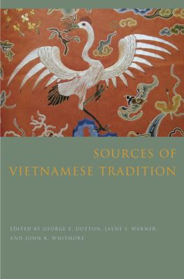 Sources of Vietnamese Tradition   2012 edition cover