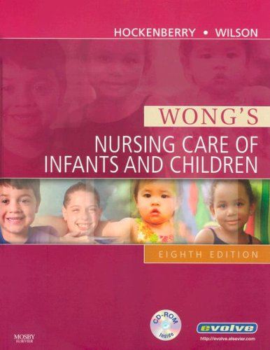 Wong's Nursing Care of Infants and Children  8th 2006 (Revised) edition cover