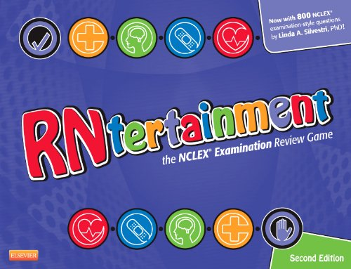 RNtertainment The NCLEX� Examination Review Game 2nd 2011 edition cover