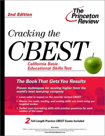 Cracking the CBEST, 2nd Edition  2nd 2002 edition cover