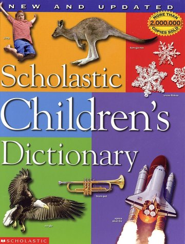 Scholastic Children's Dictionary   2002 (Revised) edition cover