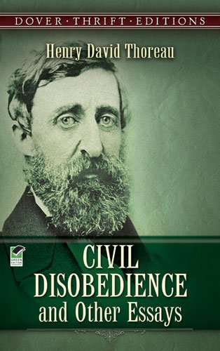 Civil Disobedience and Other Essays   1993 (Reprint) 9780486275635 Front Cover