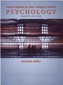 PSYCHOLOGY-LECTURE OUTLINES F/ 4th 2006 9780495031635 Front Cover