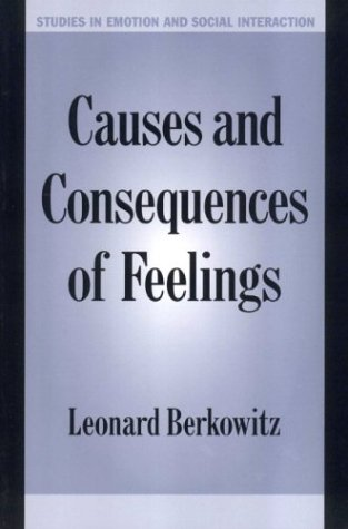 Causes and Consequences of Feelings   2000 9780521633635 Front Cover