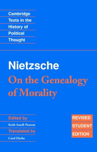 Nietzsche - On the Genealogy of Morality  2nd 2007 edition cover