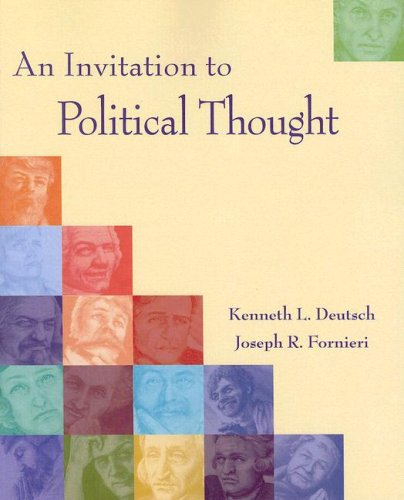Invitation to Political Thought   2009 9780534545635 Front Cover