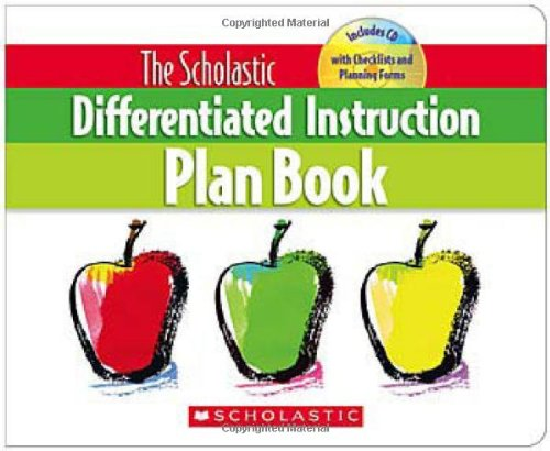 Scholastic Differentiated Instruction Plan Book   2009 edition cover