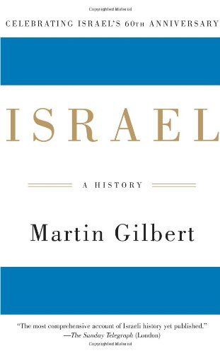 Israel A History  2008 edition cover