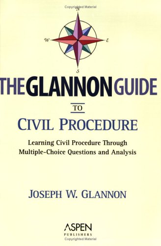 Civil Procedure Learning Civil Procedure Through Multiple-Choice Questions and Analysis  2003 (Student Manual, Study Guide, etc.) edition cover