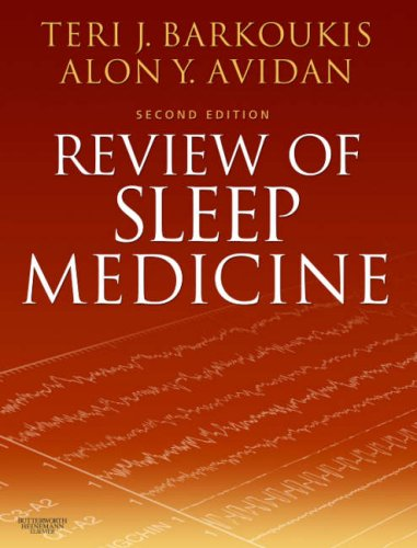 Review of Sleep Medicine  2nd 2007 (Revised) 9780750675635 Front Cover