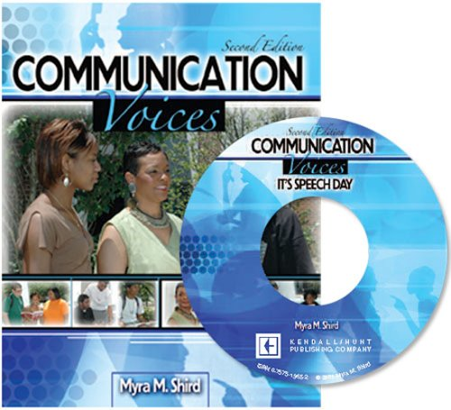 Communication Voices 2nd 2005 (Revised) 9780757519635 Front Cover