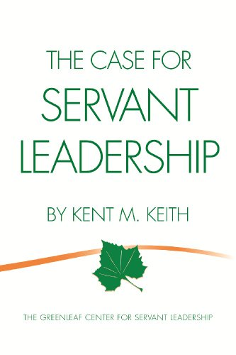 CASE F/SERVANT LEADERSHIP      N/A edition cover