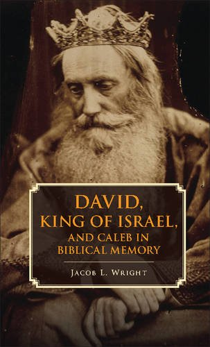 David, King of Israel, and Caleb in Biblical Memory New Perspectives in Biblical Scholarship  2014 edition cover