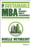 Sustainable Mba A Business Guide to Sustainability 2nd 2014 edition cover