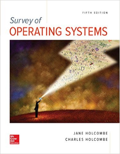 Survey of Operating Systems:  5th 2016 9781259618635 Front Cover